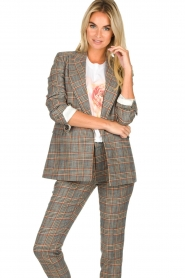 Set |  Checkered blazer Minnie | print  | Picture 4