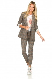 Set |  Checkered blazer Minnie | print  | Picture 3