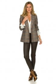 Set |  Checkered blazer Minnie | print  | Picture 7