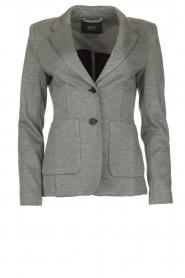 Set |  Melange blazer Max | grey  | Picture 1