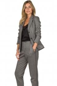 Set |  Melange blazer Max | grey  | Picture 4