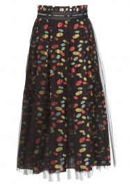 ELISABETTA FRANCHI | Skirt Merel | black  | Picture 1