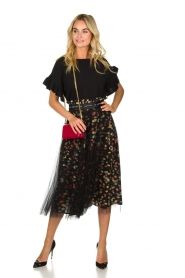 ELISABETTA FRANCHI | Skirt Merel | black  | Picture 3
