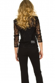 Set |  Lace top with ruffles Muse | black  | Picture 6