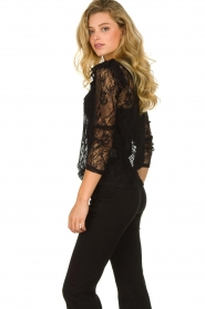 Set |  Lace top with ruffles Muse | black  | Picture 5