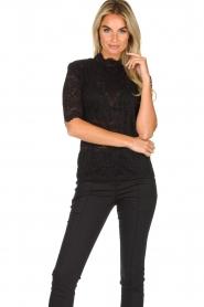 Set |  Lace top Mandy | black  | Picture 2