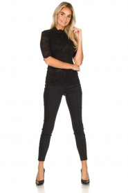 Set |  Lace top Mandy | black  | Picture 3