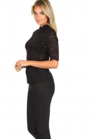 Set |  Lace top Mandy | black  | Picture 4