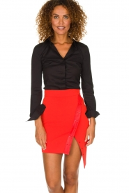 ELISABETTA FRANCHI | Skirt Sarah | red  | Picture 2