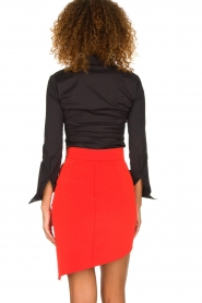 ELISABETTA FRANCHI | Skirt Sarah | red  | Picture 5