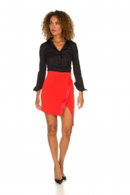 ELISABETTA FRANCHI | Skirt Sarah | red  | Picture 3
