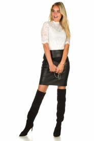 Set |  Lace top Mandy | white  | Picture 3