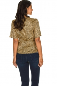 Set |  Leopard printed wrap top Momo | animal print  | Picture 6