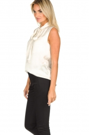 Set |  Sleeveless top with bow Mujo | white  | Picture 4