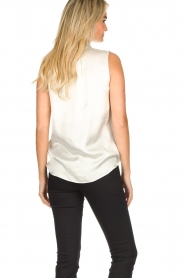 Set |  Sleeveless top with bow Mujo | white  | Picture 5