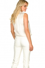 Set |  Sleeveless top with bow Mujo | white  | Picture 6