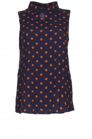 Set |  Sleeveless dotted top Max | blue  | Picture 1