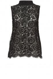 Rosemunde | Lace top Romee | black  | Picture 1