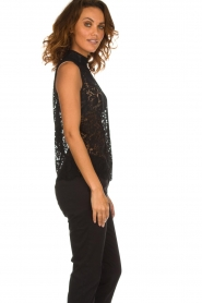 Rosemunde | Lace top Romee | black  | Picture 4