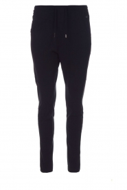 D-ETOILES CASIOPE |  Wrinkle-free stretch pants Guet | blue  | Picture 1
