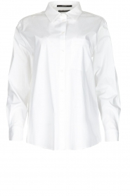 Set |  Oversized blouse Monica | white  | Picture 1