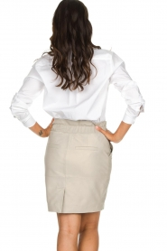 Set |  Oversized blouse Monica | white  | Picture 5