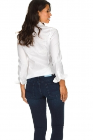Set |  Classic stretch blouse Maxime | white  | Picture 5