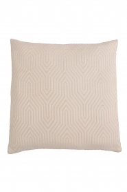 Little Soho Living |  60x60 Embroidered cushion cover Imani | natural  | Picture 1