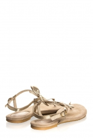 Maluo | Leather sandals Fabia | gold  | Picture 5