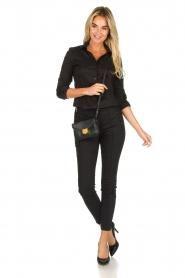 Set |  Classic stretch blouse Maxime | black  | Picture 3