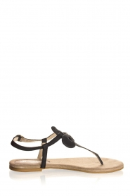 Maluo | Leather sandals Fabia | black  | Picture 4