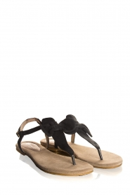 Maluo | Leather sandals Fabia | black  | Picture 1