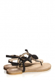 Maluo | Leather sandals Fabia | black  | Picture 5