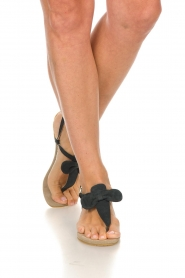 Maluo | Leather sandals Fabia | black  | Picture 3