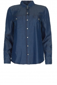 Set |  Denim blouse Maud | blue  | Picture 1