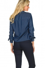 Set |  Denim blouse Maud | blue  | Picture 6