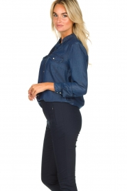 Set |  Denim blouse Maud | blue  | Picture 5