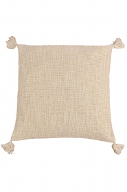 Little Soho Living |  50x50 Boucle cushion cover with lurex Krishna | natural  | Picture 1