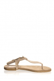 Maluo | Leather sandals Gisella | beige  | Picture 3