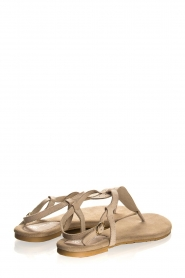 Maluo | Leather sandals Gisella | beige  | Picture 4
