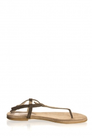 Maluo | Leather sandals Gisella | green  | Picture 2
