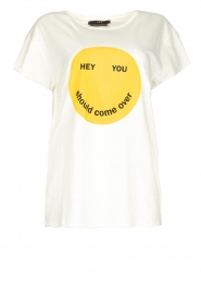 Set |  T-shirt with print Monsi | white  | Picture 1