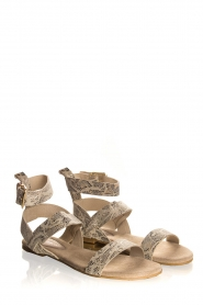 Maluo | Leather sandals Florentina | natural  | Picture 4