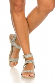 Maluo | Leather sandals Florentina | natural  | Picture 3