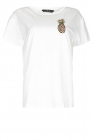 Set |  T-shirt with print Maya | white  | Picture 1