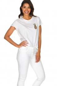 Set |  T-shirt with print Maya | white  | Picture 4