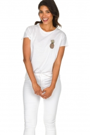 Set |  T-shirt with print Maya | white  | Picture 3