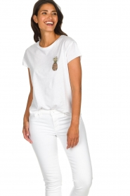 Set |  T-shirt with print Maya | white  | Picture 2