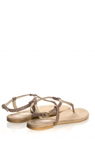 Maluo | Leather sandals Marina | grey  | Picture 5