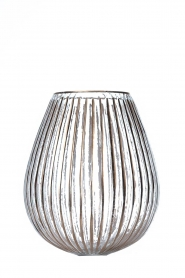 Little Soho Living |  Glass vase Cooper | gold  | Picture 2